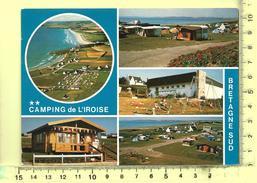 CPM: PLOMODIERN: Camping De L'Iroise, Multivues - Plomodiern
