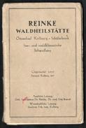 A2417 - Alte Ansichtskarten - Leporello - Kolberg Waldheilstätte - Schülerbrink - 35 Abbildungen - Defekt !!!!! - Pommern