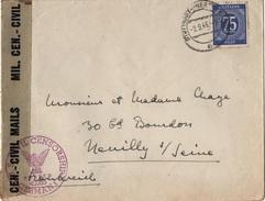 ALL-L86 - ALLEMAGNE Lettre De Stuttgart Pour Neuilly S/Seine 1946 Avec Censure - Bizone
