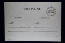 France: Carte Postale  Etat-Français Courrier Officiel - Biglietto Postale