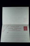 France: Carte Postal Avec Response Payee Type Semeuse Lignée   A6   1906 - Cartoline Postali E Su Commissione Privata TSC (ante 1995)
