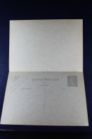 France: Carte Postal Avec Response Payee Type Semeuse Camee   R5 B  1929 Timbre Bleu-vert Pale - Cartoline Postali E Su Commissione Privata TSC (ante 1995)
