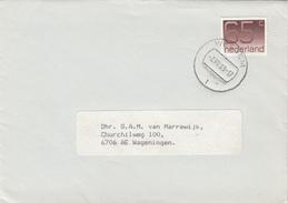 Envelop 2 Aug 1989 Wessem (type CB) - Postal History