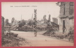 80 - CHAULNES---L'Eglise--Ruines - Chaulnes