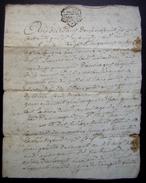 1775 Charente Paroisse D'Aumagne Vente Pour Guillaud - Manuscrits