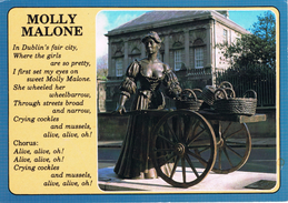 23942. Postal Statue MOLLY MALONE (Dublin) Irlanda - Dublin