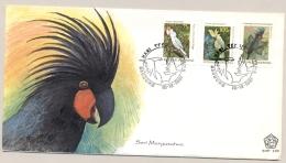 Indonesia - 1981 - Birds / Parrot / Kakatua - FDC - No Address - Indonesië