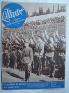 L'ILLUSTRE ( SUISSE ) .1940 : HITLER - PETAIN . GUERRE AERIENNE . LA GRECE . ACTUALITES . Etc ... - Newspapers