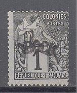 Obock: Yvert N°1* - Unused Stamps