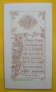 FIN XIXè IMAGE DE MISSEL Desgodets & Gérard Pl 62 TEXTE LE SAINT ESPRIT St FRANCOIS DE SALES / HOLY CARD / SANTINO - Devotion Images