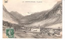 Bonneval-sur-Arc (Val D'Isère-Savoie)+/-1910-vue Sur Le Village, Eglise-Glacier Du Mulinet-Edit.E.Reynaud, Chambéry-rare - Bonneval Sur Arc