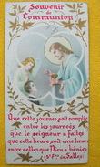 IMAGE DE MISSEL 1ère Communion 2 Juin 1957 : TEXTE De Saint FRANCOIS DE SALES / HOLY CARD / SANTINO - Devotion Images