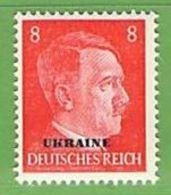 MiNr.6 Xx Deutschland Besetzte Gebiete II.WK Ukraine - Besetzungen 1938-45