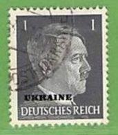 MiNr.1 O Deutschland Besetzte Gebiete II.WK Ukraine - Besetzungen 1938-45