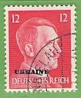 MiNr.8 O Deutschland Besetzte Gebiete II.WK Ukraine - Besetzungen 1938-45