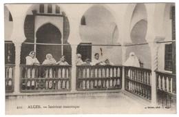 ALGERIE. ALGER. INTERIEUR MAURESQUE - Algerien