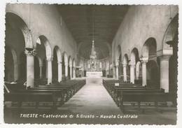 Friuli         Trieste      Cattedrale Di S. Giusto  -  Navata Centrale - Trieste