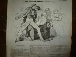 1855 JEUX INNOCENTS Et NON Ou S'amuser Sans Gagner Ou Se Ruiner; Cafetière électrique;Savants Ne Savant Pas Vivre;etc - Vieux Papiers