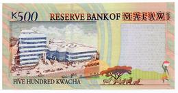 #07. MALAWI. 500 KWACHA. 1/12/2001. Pick 48a. UNC / NEUF - Malawi