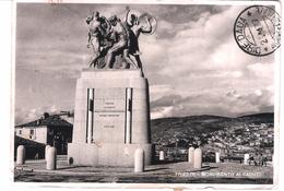 TRIESTE - MONUMENTO AI CADUTI - VIAGGIATA 1937 - (1692) - Trieste