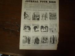 Revue De 1855 Par Nadar;  Femmes Gourmandes; Etc...origine Le Journal Pour Rire - Vieux Papiers