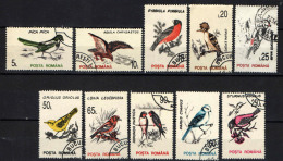 ROMANIA - 1993 - SERIE UCCELLI - BIRDS - USATI - Gebraucht