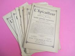 """"""" Apiculteur""""/Bulletin Mensuel De La Société Centrale D'Apiculture/Rue Serpante/PARIS /7 Numéros/1928  VJ123 - Journaux - Quotidiens"""