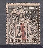 Obock: Yvert N°21* - Unused Stamps