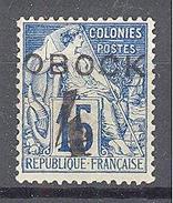 Obock: Yvert N°24(*) - Unused Stamps