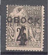 Obock: Yvert N°25* - Unused Stamps