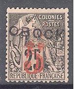 Obock: Yvert N°26* - Unused Stamps