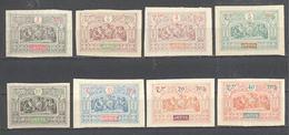 Obock: Yvert N° 47/56(*) 50-51-53x - Unused Stamps