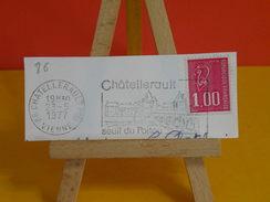 Marcophilie > Flamme > 86 Vienne > Châtellerault > Seuil Du Poitou - 1977 - Marcophilie (Lettres)