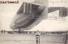 LUNEVILLE LE ZEPPELIN N°4 AU CHAMP DE MARS VICTIME DU KOLOSSAL AVIATION DIRIGEABLE GUERRE - Luneville