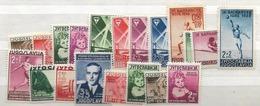 1938 MH Yugoslavia, Year Complete - 1931-1941 Kingdom Of Yugoslavia