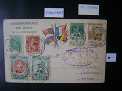 BELGIUM - ENTIRE POSTCARD IN BAD STATE SENT FROM LE HAVRE TO BERNE (SWITZERLAND) - 1914-1915 Croix-Rouge