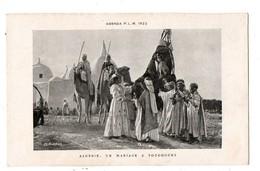 ALGERIE . UN MARIAGE A TOUGGOURT - Réf. N°1436 - - Scènes & Types