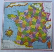 Puzzles : Carte De FRANCE - Editions VERA   PARIS - Puzzle Games