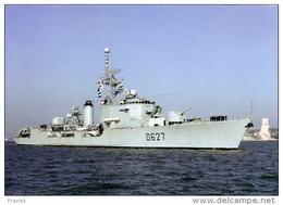 """BAT171 - Escorteur D'Escadre """"MAILLE-BREZE"""" D627 - Marine Nationale - - Krieg"""