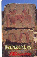 Télécarte Japon Egypte (287) SPHINX * PYRAMIDE * TELEFONKARTE EGYPT Related - Ägypten Phonecard Japan * - Paysages