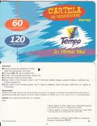 MOLDOVA - Tempo By Voxtel Prepaid Card(paper) 60/120 Min, Sample