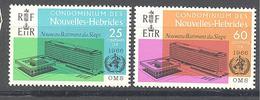 Nouvelles Hébrides: Yvert N° 245/246**; MNH - Leyenda Francesa
