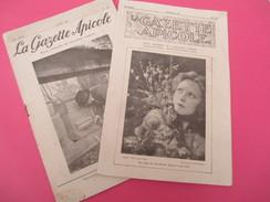 """""""La Gazette Apicole""""/Revue Mensuelle De L'Apiculteur Moderne /N°326 Et 410/Montfavet-Avignon/1932 Et 1939    VJ125 - Journaux - Quotidiens"""