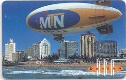 South Africa - MTN - Durban MTN Zeppelin - 1999, Used