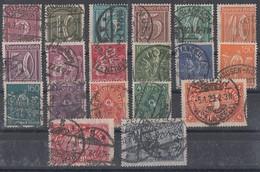 DR Minr.158-176 Gestempelt - Lots & Kiloware (max. 999 Stück)