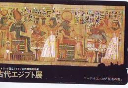 Télécarte Japon Egypte (301) SPHINX * PYRAMIDE * TELEFONKARTE EGYPT Related - Ägypten Phonecard Japan * - Landscapes