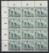DR Minr.740 UER Postfrisch 12er Block - Deutschland