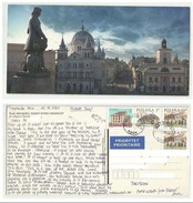 POLAND POSTAL USED AIRMAIL  VIEW CARD WITH STAMP TO PAKISTAN  VIEWCARD - Ohne Zuordnung