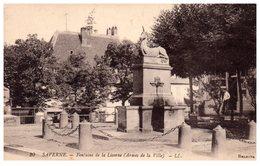 SAVERNE - Fontaine De La Licorne (armes De La Ville) - Saverne