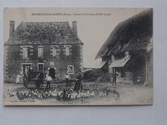 AMFREVILLE-LES-CHAMPS (27): Carte Postale 1927   Ferme Du Pavillon (XVIIe Siècle) - France